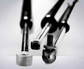 Газовые пружины,  блокируемые газовые  пружины, амортизаторы и  демпферы