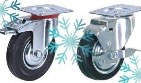 Какие колеса подойдут для оборудования, применяемого в условиях шоковой заморозки?