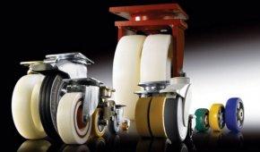 Контактный слой промышленных колес и роликов