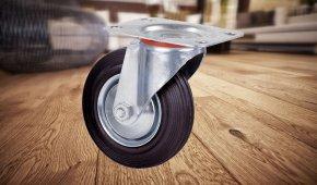 Какие колеса и ролики подходят для деревянного пола